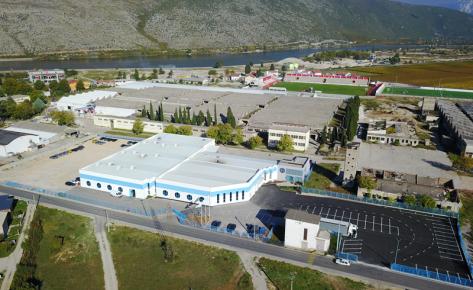 Upravna zgrada i proizvodna hala – Zinkteknik Bosnia